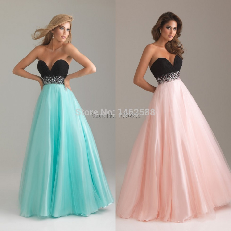 Attractive Prom Dresses Pink Long Image - All Wedding Dresses ...