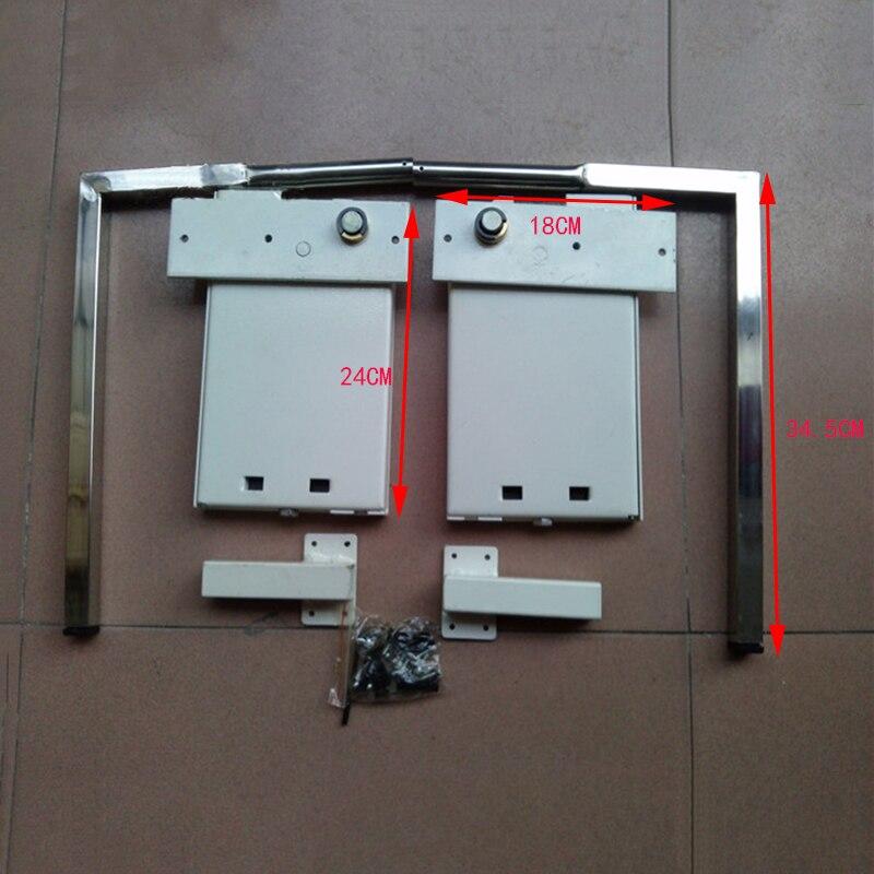 DIY Мерфи стены кровать Аппаратные средства комплект раза Подпушка кровать механизм hm117