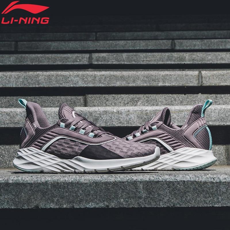 Li Ning Women CRAZY RUN Cushion Running Shoes Light Comfortable LiNing Flexible Sport Shoes Sneakers ARHP022