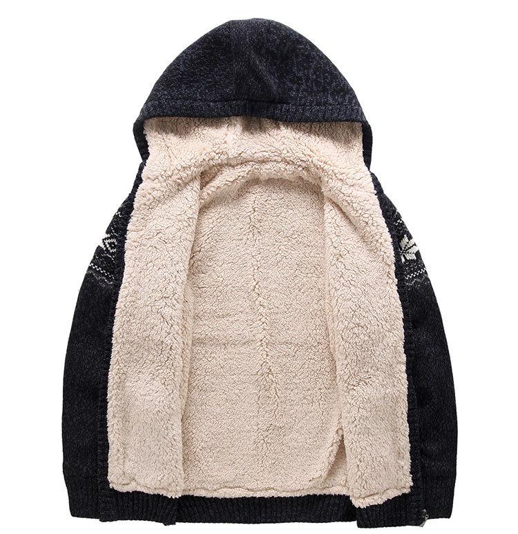 2015 moda de tejer patrones Mens suéter suéteres gruesos para hombre ...