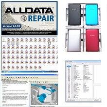 2021 alldata v10.53 software de reparo automático em 750gb hdd usb3.0 alta qualidade venda quente disco rígido alldata ferramenta diagnóstico