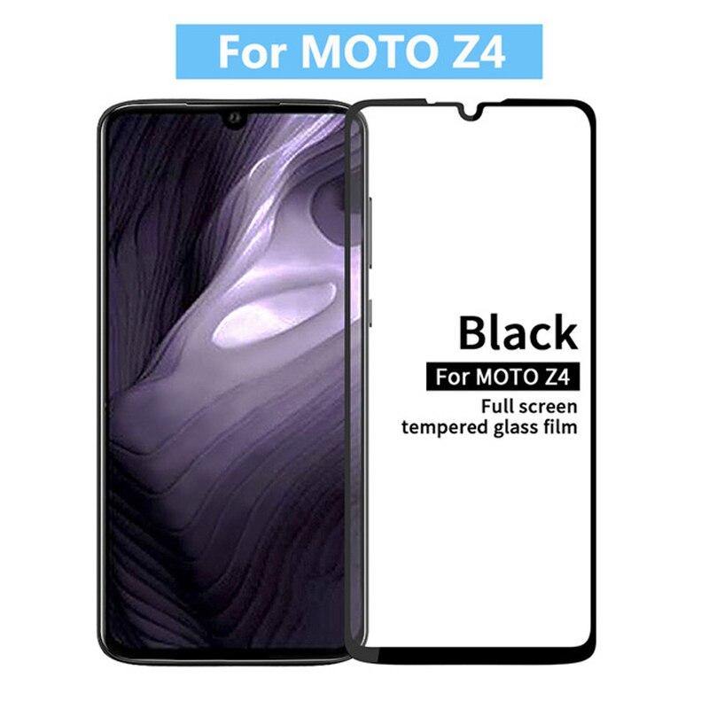 3D закаленное стекло для Motorola Moto Z4 полное покрытие 9H Защитная пленка для экрана для Motorola Moto Z4 Play|Защитные стёкла и плёнки|   | АлиЭкспресс