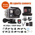 Eken H9R original ultra hd 4 k wi-fi câmera de ação à prova d' água ação camcorder suporte ir câmera de vídeo pro esporte câmera dv capacete