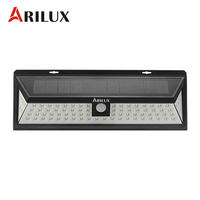 ARILUX AL SL12 Waterproof 80 LED Solar Light Outdoor LED Garden Light PIR Motion Sensor Emergency