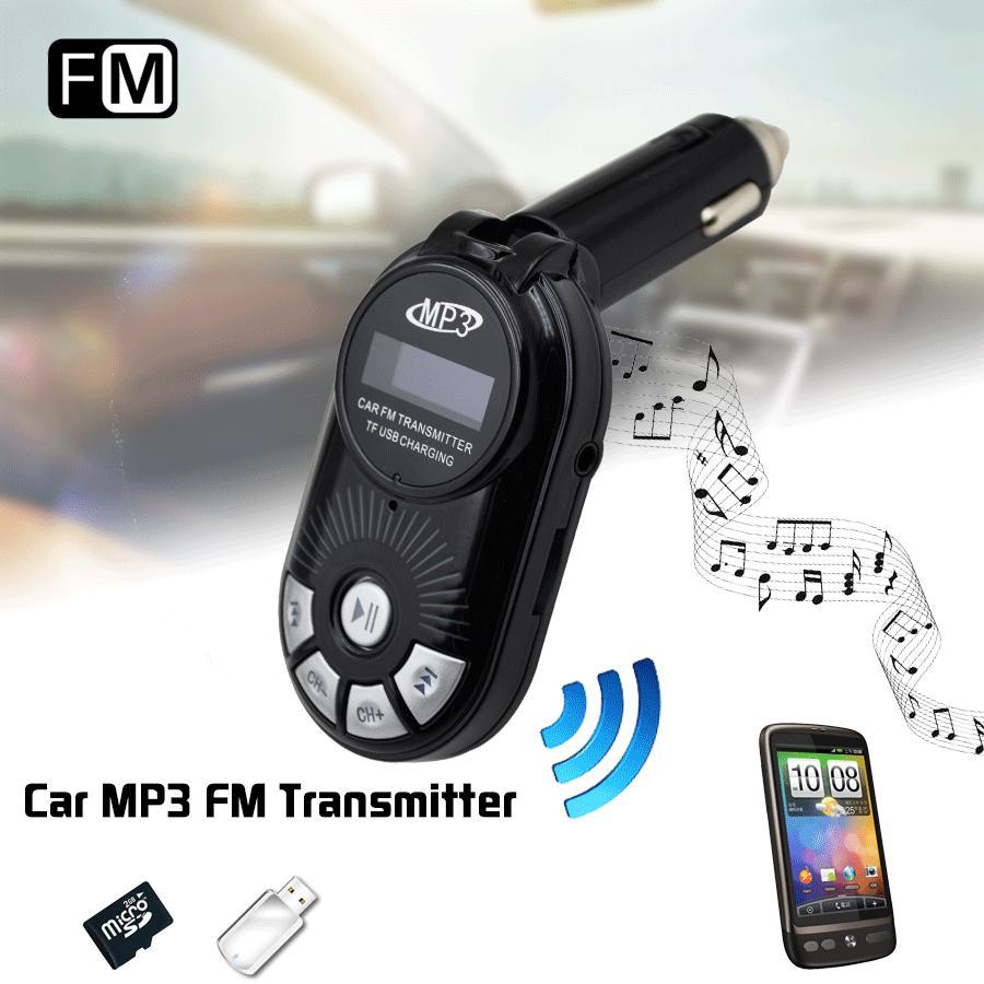 Car Electronics Car MP3 Reproductor Inalámbrico FM Del Modulador Del Transmisor