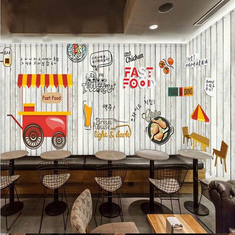 Fototapete Europa mode holz wandbild Koreanische küche gebratenes ...