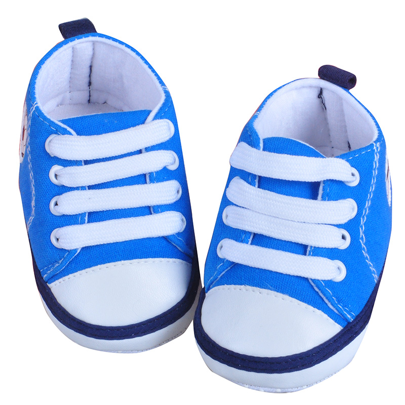All Season 2018 Frabic Babyschuhe First Walkers 2 Colors Rubber Fashion Soft Newborn Boys Girls Antislip High Quality Shoes