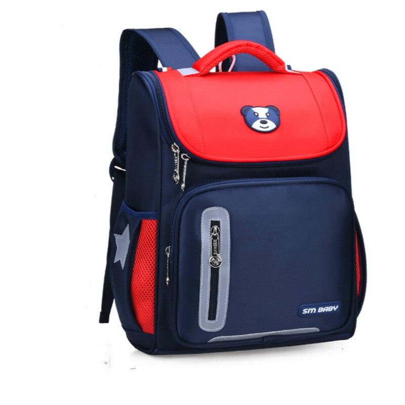 2019 children School Bags girls boys Cute Waterproof Orthopedic school  Backpack kids Car cartoon Schoolbag Mochila Infantil 93b4ce1ec25dd