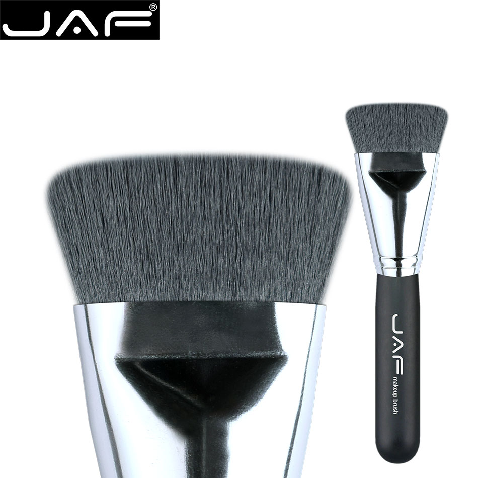 JAF Synthetic Flat Kabuki Brush Foundation Face Blending Brushes Makeup Contour Brush Highlighter Brush Free Ship 18SKYE