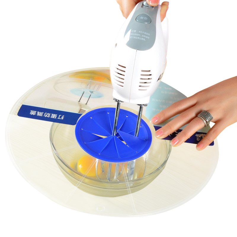 Praktische Eieren Klopper Anti-Spuiten Deksel Cover Siliconen Ei Gereedschap Taart Klop Kookgerei Koken Keuken Gadgets Helper Accessoires