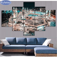 Full Diamond Embroidery Islamic Muslim Mosque 5D Diy Diamond Painting Amsterdam Stitch Cross Diamond Mosaic Diamond