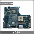 For Lenovo IBM Y580 Laptop motherboard DDR3 LA-8002P HM76 GTX660M 11S90000281 mainboard 100% tested Original new