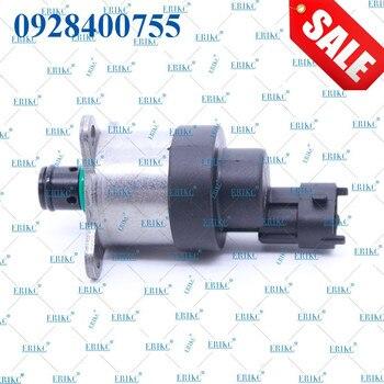 ERIKC 미터링 SCV 0928400755 자동 연료 압력 제어 밸브 0 928 400 755 원래 예비 부품 자동차 MAN TGX 용 측정 장치