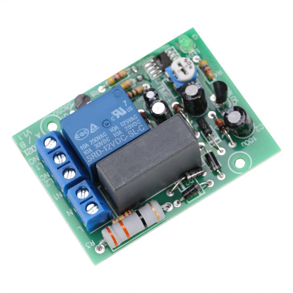 Buy Ac 220v Input Output Timer Delay Switch Module Control Turnoff Circuit Controlcircuit Adjustable Timing Turn Off Board Cycle From Reliable