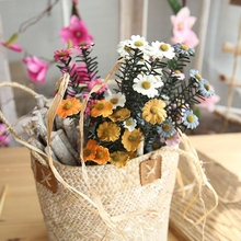 1 Stem Silk Daisy Real Touch Artificial Flowers Wedding Decoration DIY Wreath for Party Decoratio