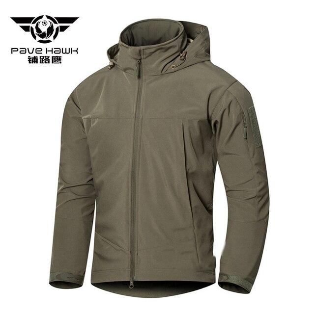dca54f8b5d9 Pave Hawk Army Camouflage Coat Military Jacket Waterproof Windbreaker  Raincoat Clothes Army Tactical Men Jackets Coats