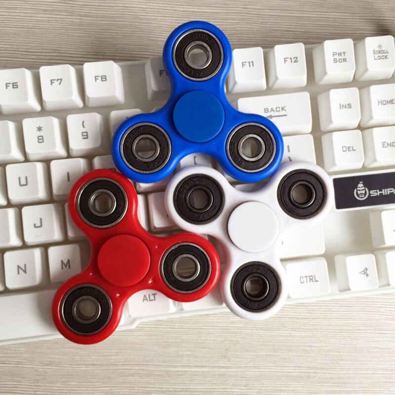 Hand Finger Tri Fidget Spinner Metal Beyblade Toy Handspinner Gyroscope Spin  Stress Spinner Funny Toys For