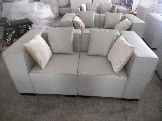 Koe lederen bankstel woonkamer meubels couch banken woonkamer sofa 2 ...