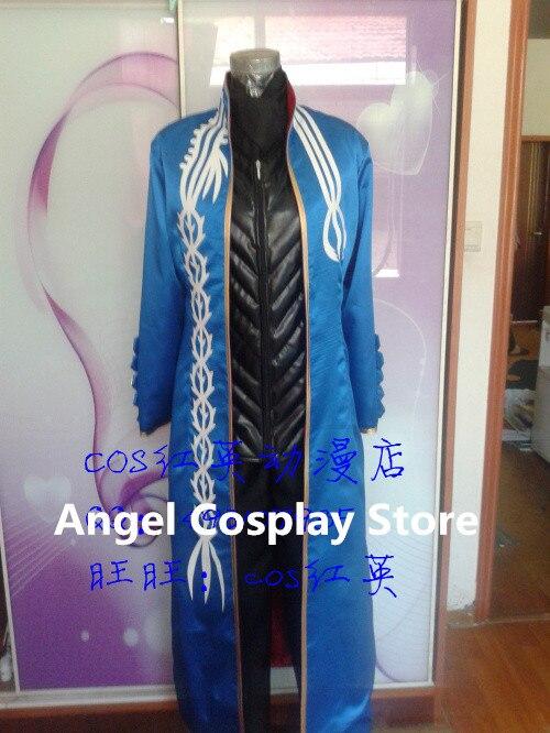 Игры аниме фильм Devil May Cry Вергилий модные вечерние форма Косплэй костюм Для мужчин Хэллоуин одежда новый