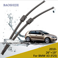 "wiper blade for BMW X3 (F25) (from 2010 onwards) 26""+19"" fit side pin type wiper arms only HY-006B"