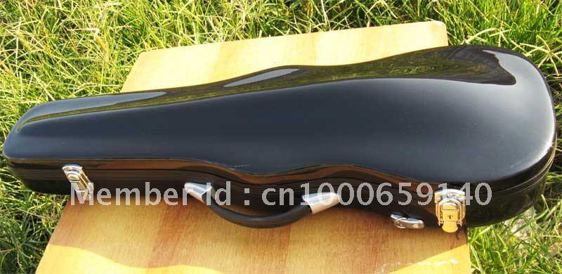 ФОТО Best black glass fiber reinforced plastic4/4violin case 2#