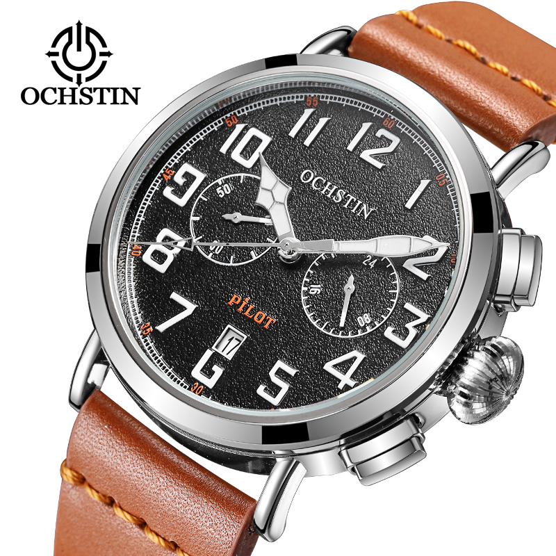 OCHSTIN Brand Men Sport Watch Men Fashion Casual Male Clocks Relogios Masculino Mens Gift Military Wrist Watches men