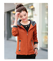 2016 New autunm and winter women trench coat slim fashion plus size 4XL medium-long windbreaker   hooded outwear XD037