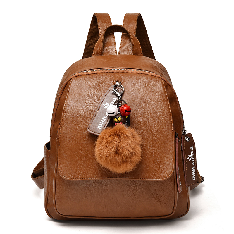 Discount Fashion Women Backpack High Quality Youth Leather Backpacks For Teenage Girls Female School Shoulder Bag Bagpack