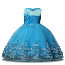 Kids Party Dresses Baby Girls Evening Princess Dress Wedding Dress Children Clotes Girl Costume 3 4 5 6 7 8 9 10 11 12 Year 2019 summer girl dress kids children dress cotton striped princess dress baby girls clothes 4 5 6 7 8 9 10 years girl costume