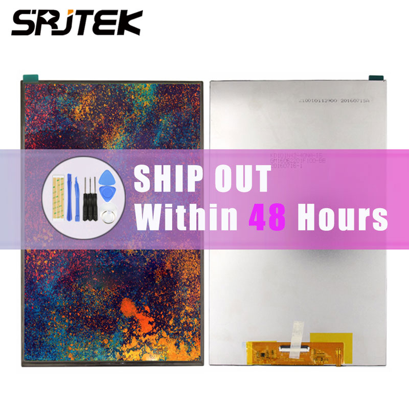 Srjtek 10.1 For Acer Iconia One 10 B3-A20 A5008 LCD display Matrix Screen Tablet PC Replacement Parts B3-A20 LCD Screen Repair srjtek 7 matrix screen for pocketbook surfpad 2 lcd display tablet pc screen panel replacement parts free adhesive