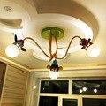 Детские легкие модели животных Жираф прекрасный лампы для детских комнат Ребенок потолочный светильник освещение украшения для детская комната