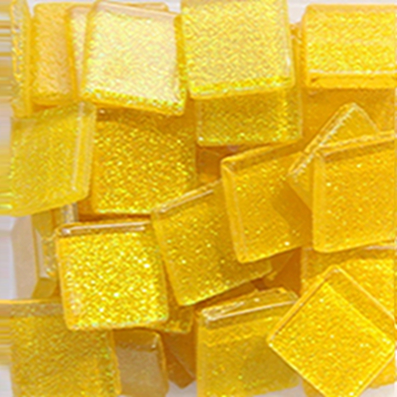 100g Colorful Glitter Mica Glass Mosaic Tiles Material For DIY Wall Art Craft