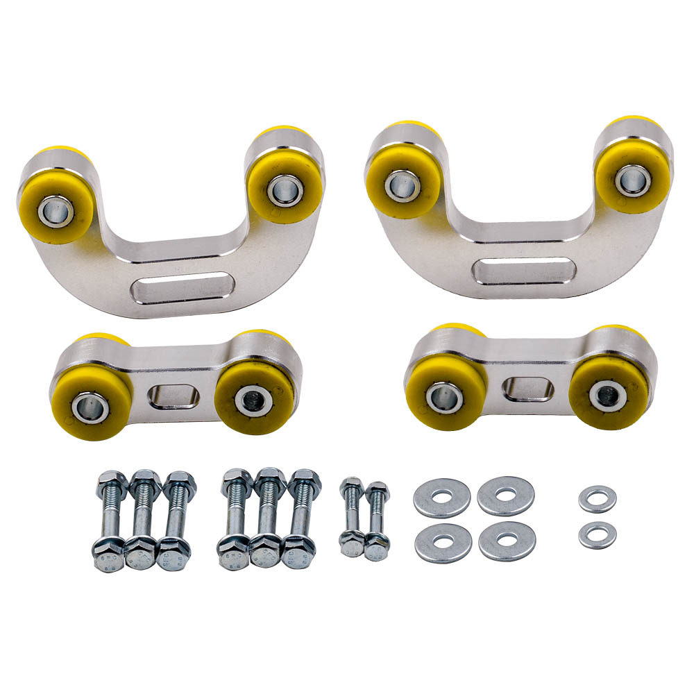 Whiteline End Links Kit Front & Rear for 1993 2007 Subaru Impreza WRX WAGON