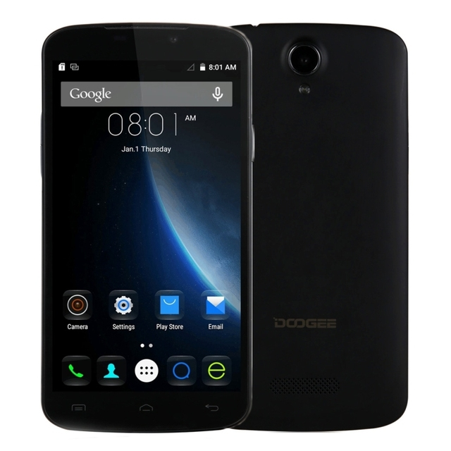 DOOGEE X6 Pro X6 16GB/8GB+ 2GB/1GB Network 4G 5.5'' Android 5.1 MT6735 Quad Core 1.0GHz DOOGEE X6 RAM 1GB ROM 8GB Network 3G