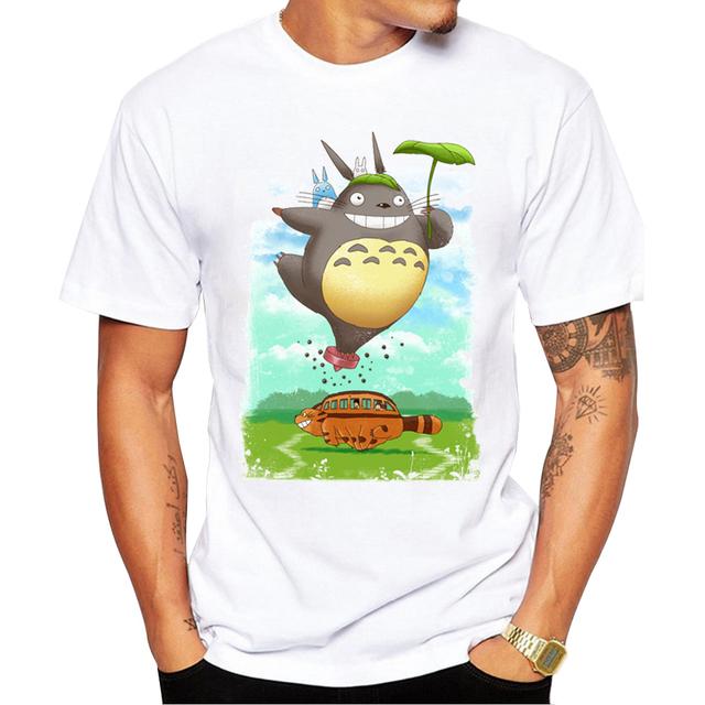 Flying Totoro Men Tee