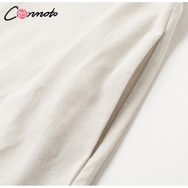 Conmoto Elegant Short Blazer Women Dress Sexy Bow Belt Tie Solid Mini Dress Linen Button Beach Wrap Party Dresses Shirt Vestidos 13