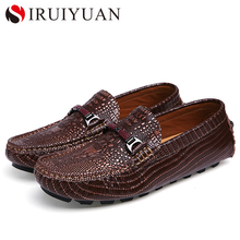 Free shipping!luxury brand shoe with genuine handmade Alligator skin men's casual shoe 4 color popular breathable shoe size38-44
