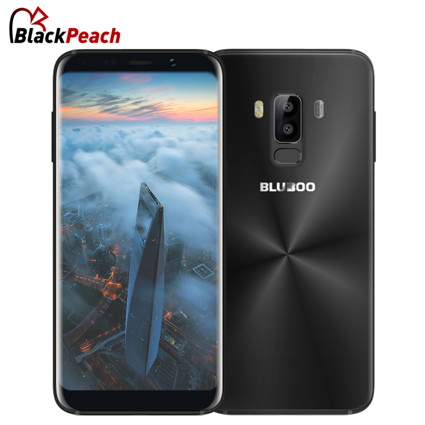 BLUBOO S8 5.7'' Full Display 4G Smartphone MTK6750T Octa Core Android 7.0 3GB+32GB 3450mAh 13MP Dual Rear Cameras Mobile Phone