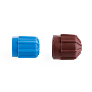Image 5 - Автомобильная крышка клапана переменного тока A/C, 2 шт., клапанный клапан холодильного агента, Hi/Lo напряжение R134a, защитная крышка от пыли, крышка