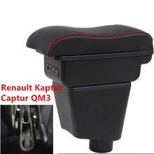 Per Renault Kaptur Captur QM3 box bracciolo centrale casella dei contenuti Negozio di supporto di tazza interni auto-Accessori per lo styling parte 14 -17