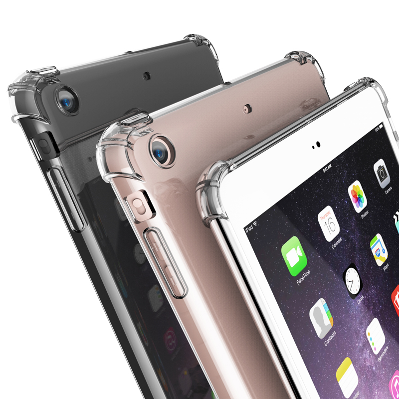 Case Pc-Cover Tablet Clear New iPad Mini Air-2 Anti-Knock TPU for 5/6/Mini/.. Pro