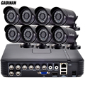 GADINAN 8CH 960H Analog Kits CCTV Camera 8pcs 800TVL 1000TVL Mini Bullet Waterproof HD IR Cut Filter Night Vision CCTV System