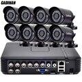 Gadinan 8ch 960 h analógico 1000tvl câmera de cctv kits 8 pcs 800tvl Mini Bala À Prova D' Água HD Filtro de Corte IR de Visão Noturna CCTV sistema