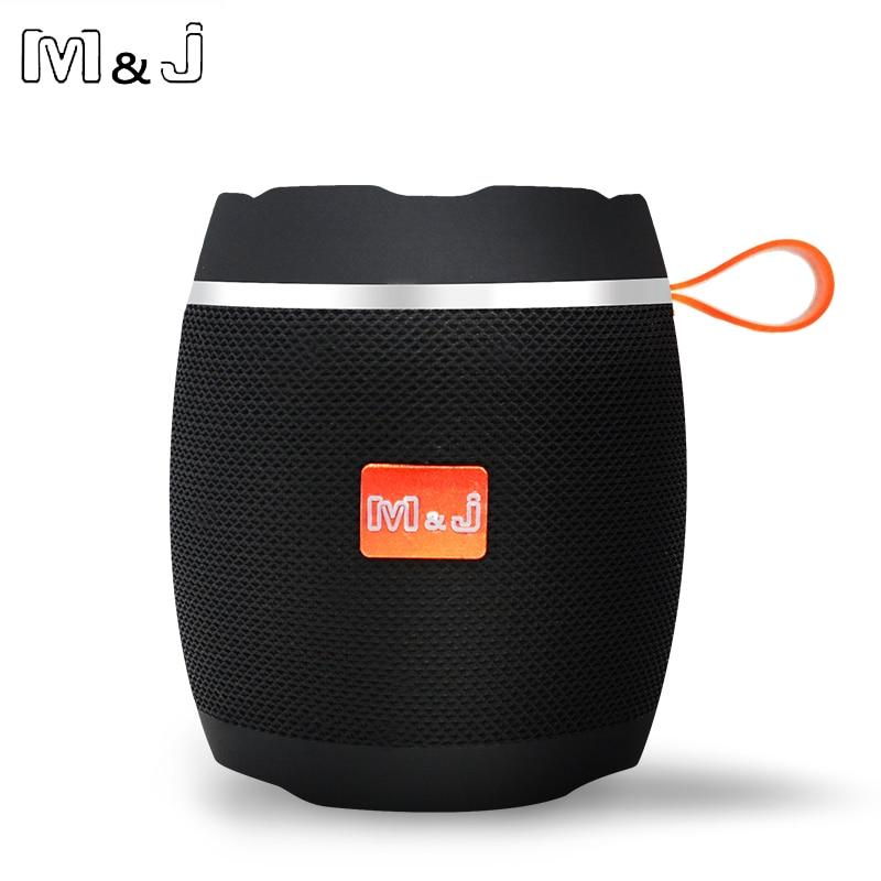 M&J AK102 Bluetooth 4.2 Portable Speaker