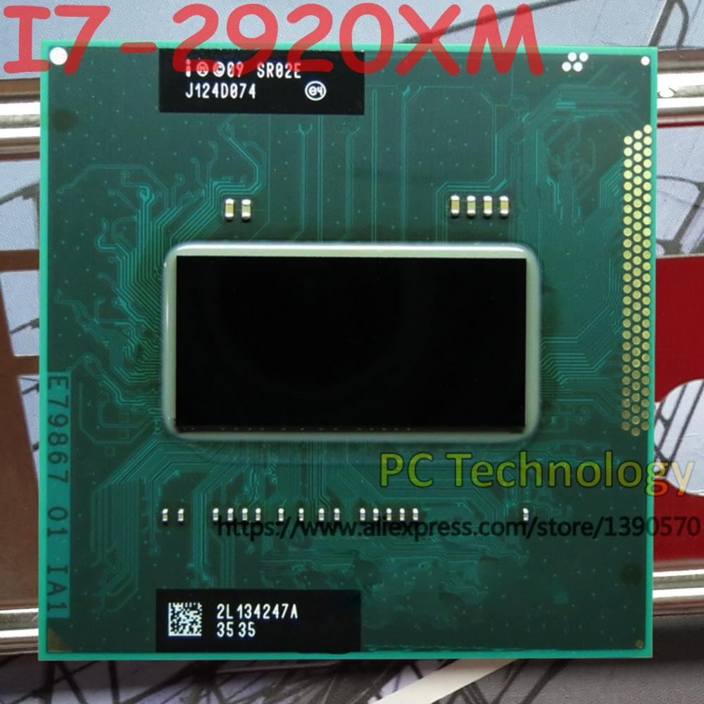 Original Intel Core I7 2920XM SR02E CPU I7 2920XM processor 2.50GHz L3=8M Quad Core free shipping ship out within 1 day-in CPUs from Computer & Office    1
