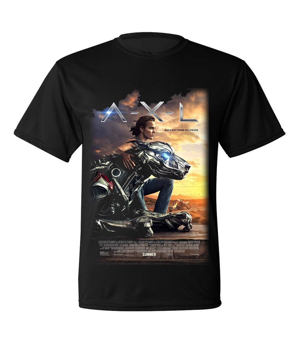Axl Movie 2018 new a.x.l. movie 2018 t shirt size s to 2xl summer short