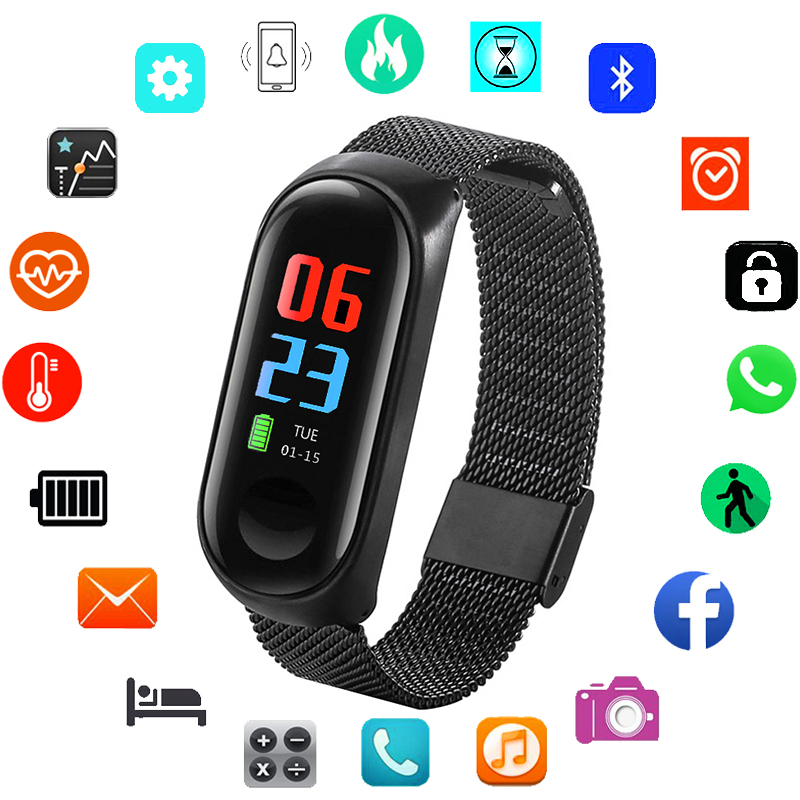 Stainless Steel Smart Watch Men Watches Top Brand Luxury Sport Bracelet Wristwatches Male Wrist Watch For Men Clock WaterproofStainless Steel Smart Watch Men Watches Top Brand Luxury Sport Bracelet Wristwatches Male Wrist Watch For Men Clock Waterproof
