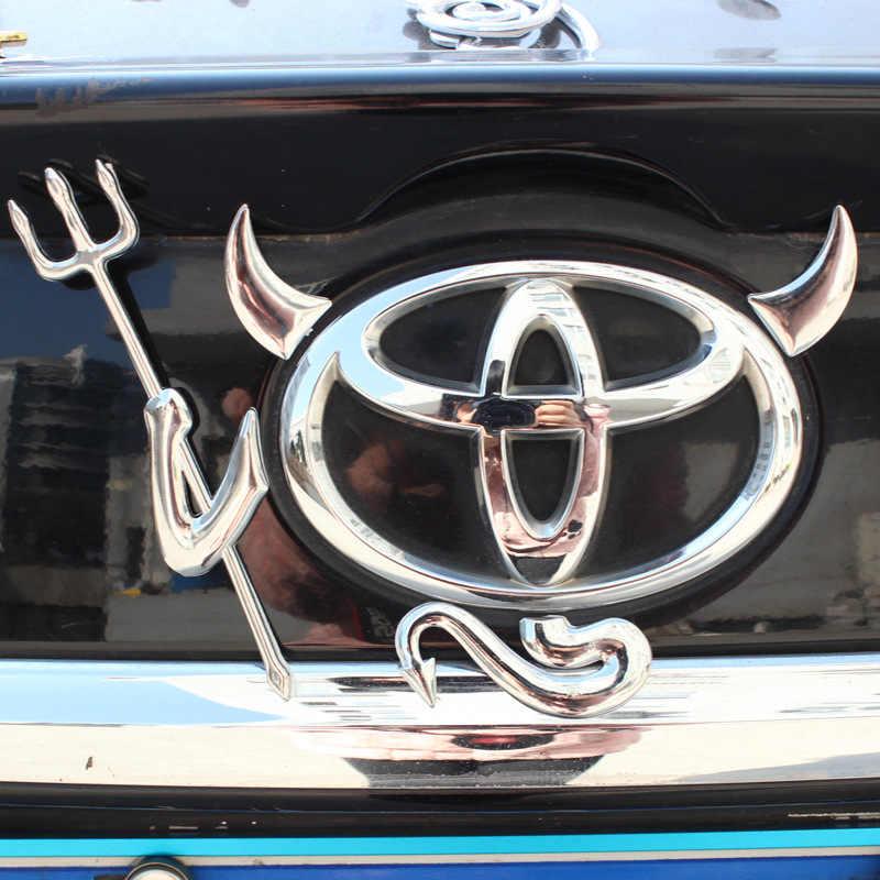 Новая мода милый 3D Дьявол Стиль Демон гоночный трек Гоночная машина МОТОРСПОРТ виниловая декоративная наклейка для кузова автомобиля