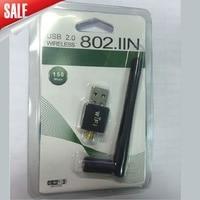 Mini Draadloze 802.11n/g/b 150 M Externe USB WiFi Adapter Antenne