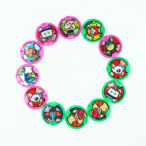Image 2 - [AIBOULLY] יפני אנימה Yokai שעון DX יו היקפי קאי שעון יד מדליות אוסף סמל צעצוע 879